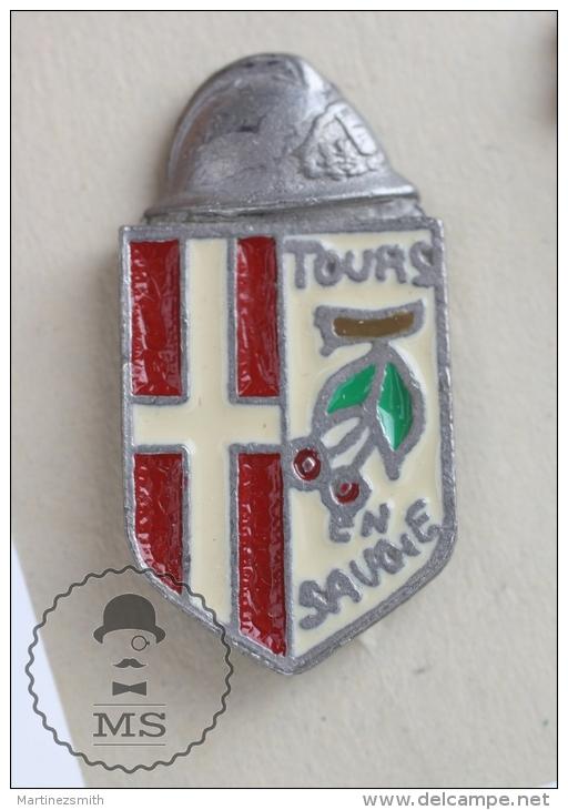Tours Savoie Sapeurs Pompiers - Fireman Firefighters - Pin Badge #PLS - Bomberos