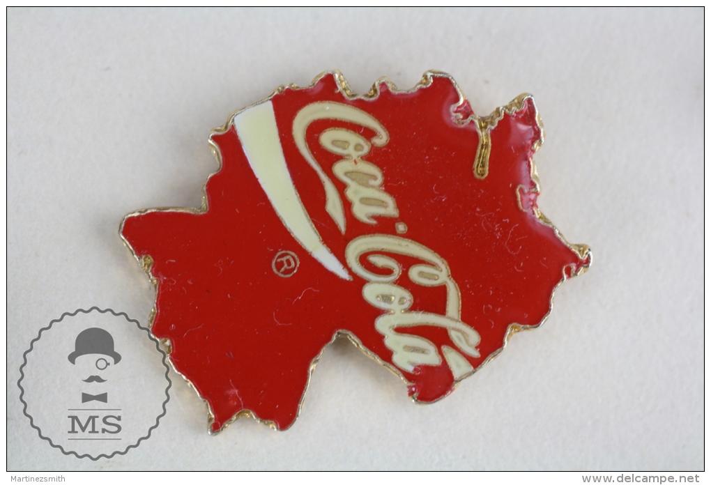 Deutch / Germany Coca Cola Advertising Pin Badge #PLS - Coca-Cola