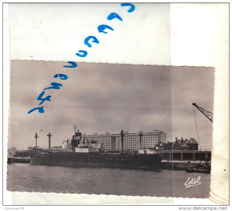 "cpsm Roeun bateau identifi� "" Menhir Braz "" - Delcampe.net"