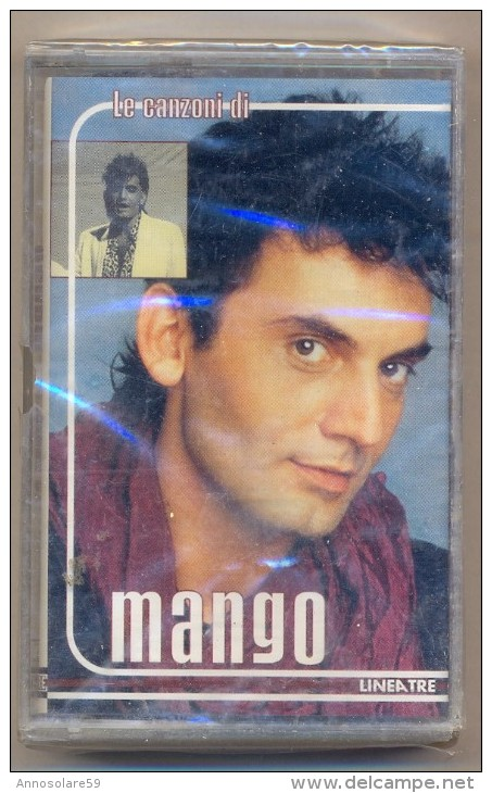 MUSICASSETTA SIGILLATA - LE CANZONI DI MANGO - MANGO - LEGGI - Audiokassetten