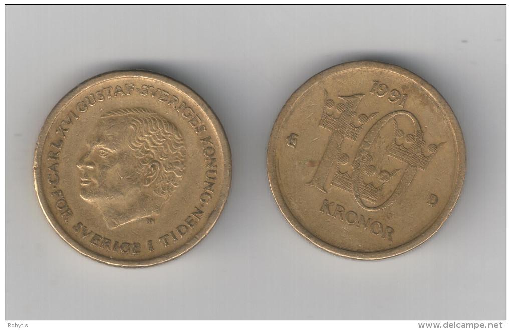 Sweden 10 Kr 1991  MN - Schweden