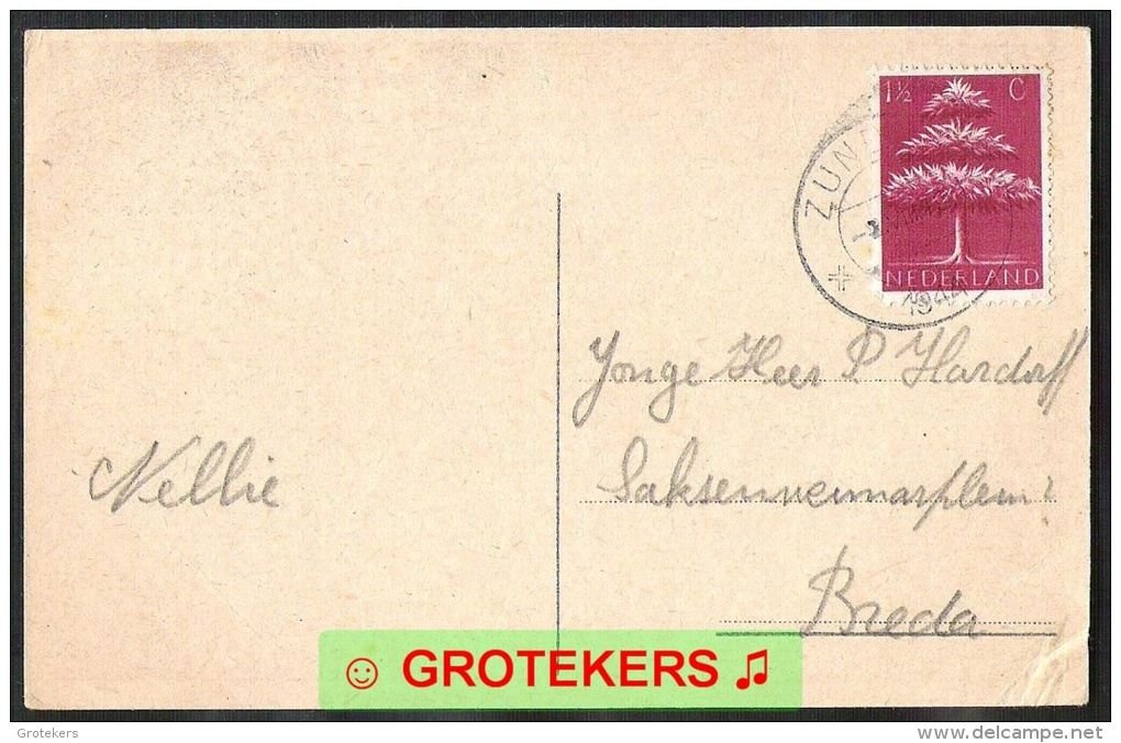ZUNDERT Groeten Uit 1944 - Other