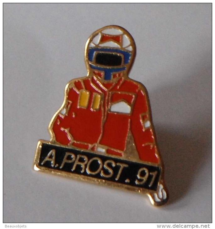 Alain Prost 91 - Automobile - F1