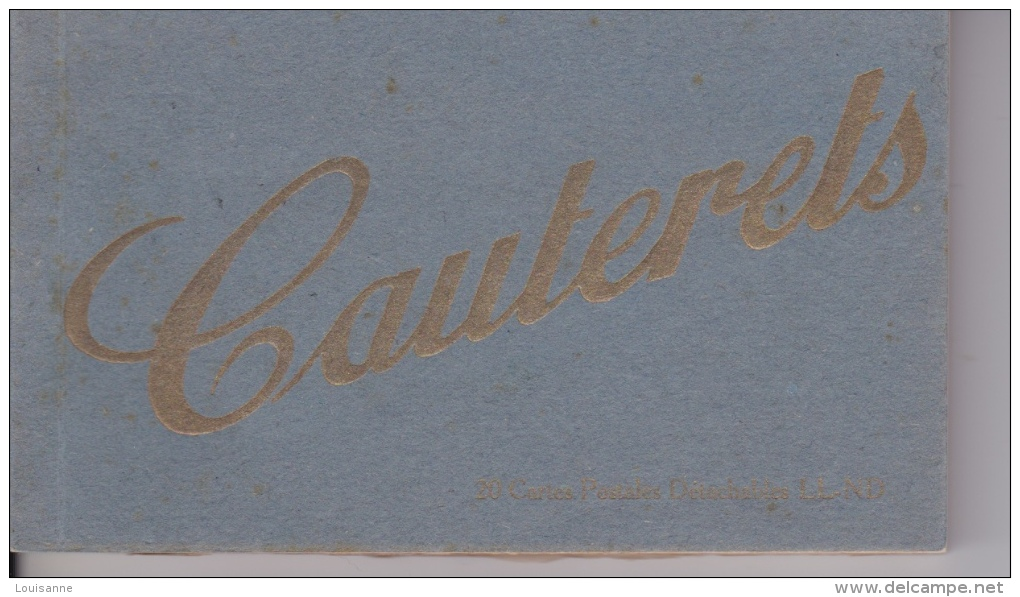 CARNET  20  CPA  DE  CAUTERETS  - - 5 - 99 Cartes