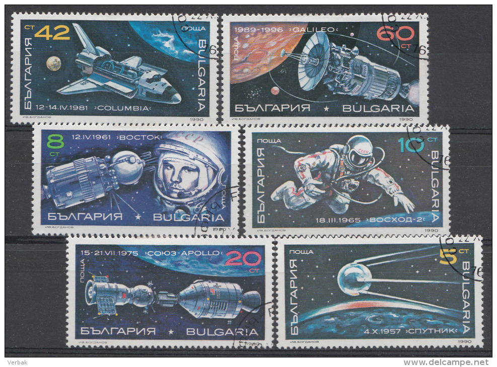 BULGARIEN / BULGARIJE MI.NR.3870-3875  USED / GEBRUIKT / OBLITERE 1990 - Usati