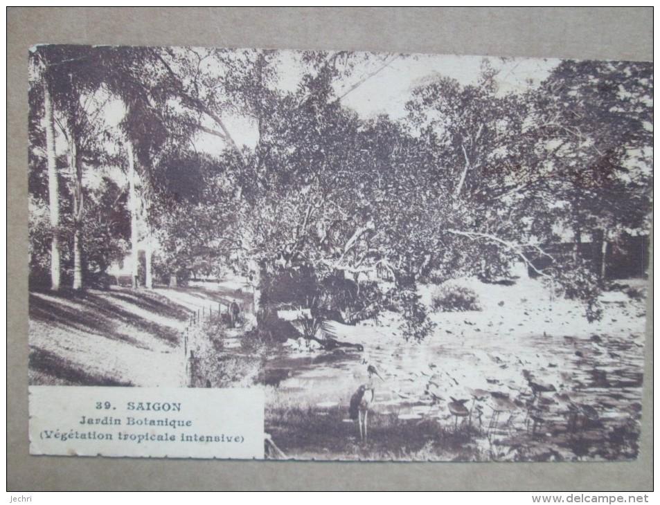 SAIGON JARDIN BOTANIQUE - Cartes Postales