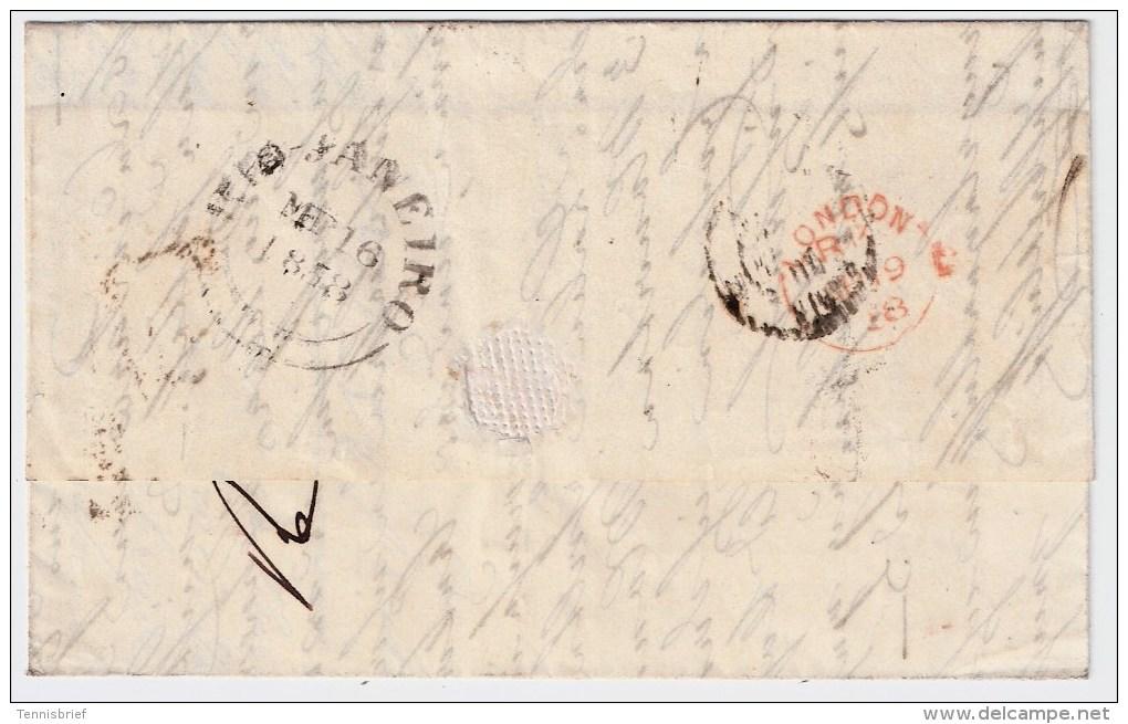Brasilien, 1858, Brief Nach Paris , #3212 - Briefe U. Dokumente