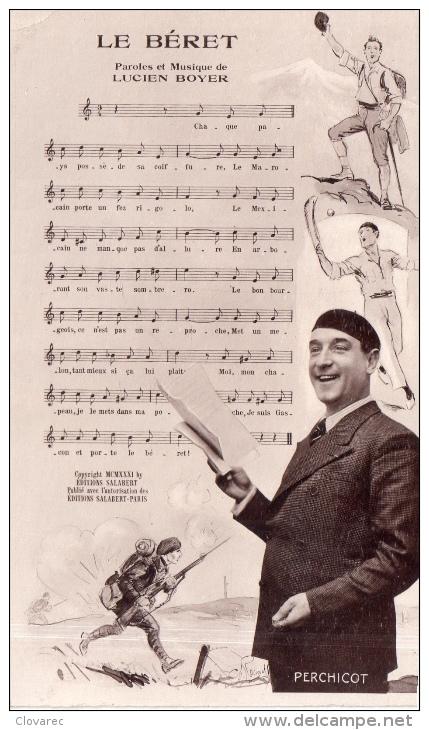 """CHANSON  """"LE BERET"""" - Musique Et Musiciens"""