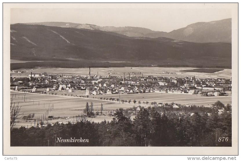 Autriche - Neunkirchen - Panorama Ville - Souvenir De Captivité 1941 - Prisonnier De Guerre - Neunkirchen
