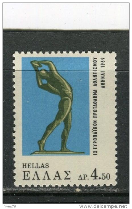 GRECE - Y&T N° 949* - Le Discobole - Greece