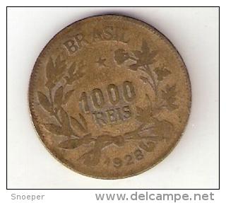 *brazil 1000 Reis 1928  Km 525 - Brésil