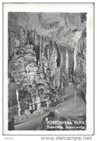 Photography FO000077 - Slovenija (Slovenia) Postojnska Jama (Adelsberger Grotte / Grotte Di Postumia) 9.7 X 6.7cm 10pcs - Fotos Estereoscópicas