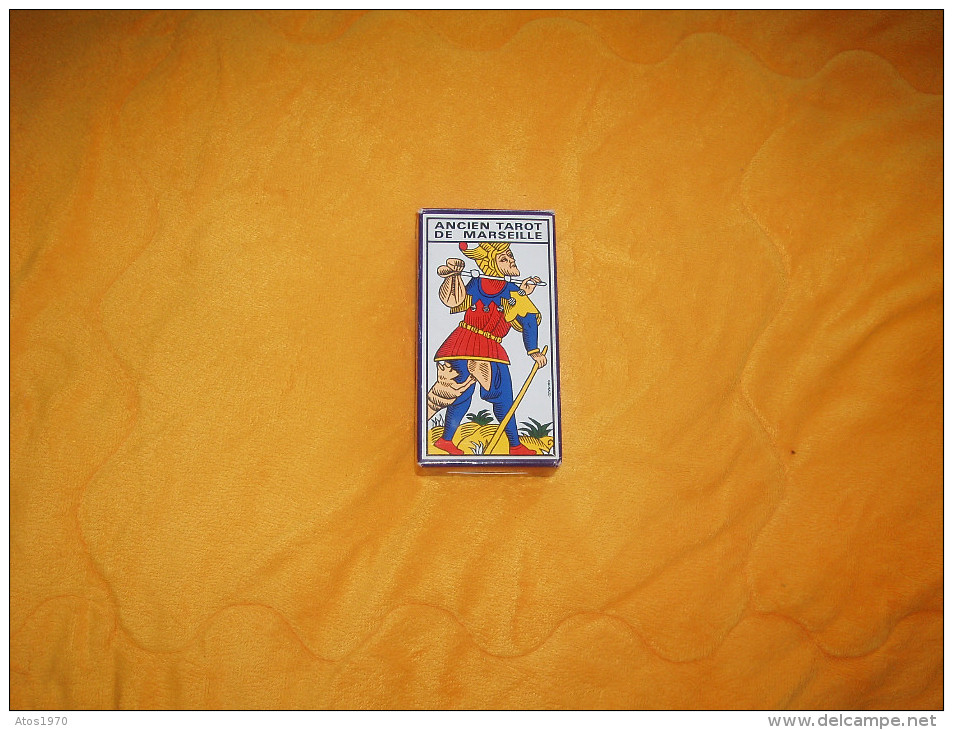 COMPLET ANCIEN TAROT DE MARSEILLE. / CARTOMANCIE GRIMAUD REF. 394403. - Tarots