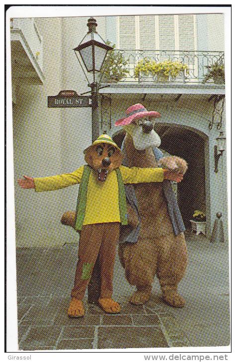 CPSM DISNEYLAND  BRER BEAR AND BRER BOX - Disneyland