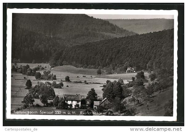 AK Frammersbach, Pension Und Gaststätte Kupfermühle, Forsthaus - Allemagne