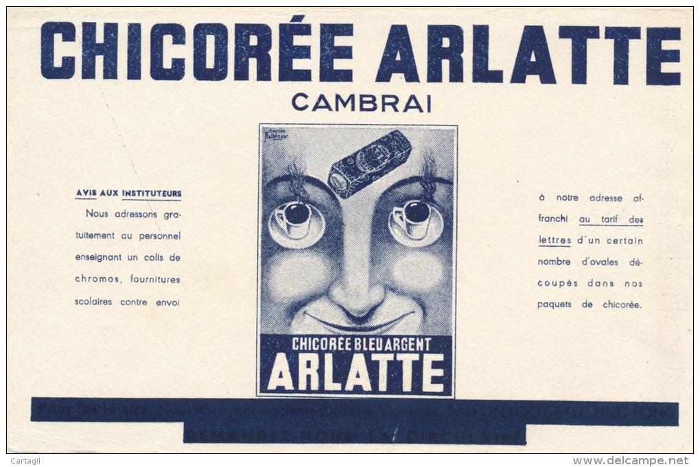 Buvard (format 135 X 214mm)  - B1751 - Chicorée ARLATTE- (non  Utilisé - Défauts)) - Buvards, Protège-cahiers Illustrés