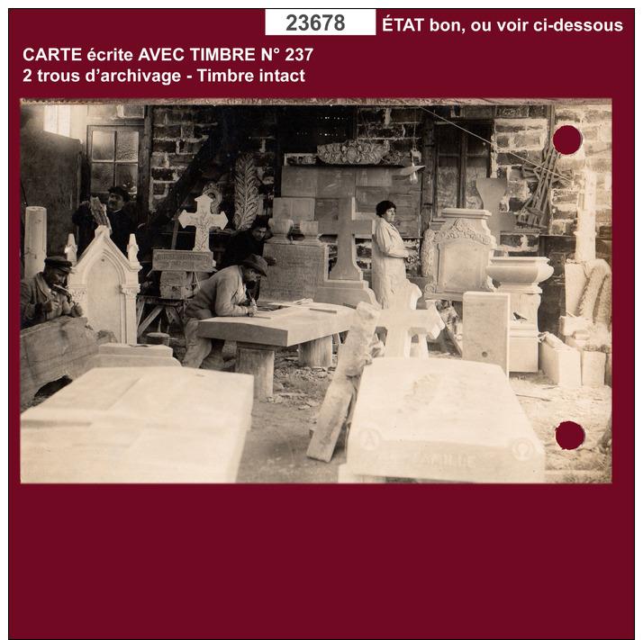 23678 CPA CPM CPSM Carte Postale COSNE COURS SUR LOIRE ATELIER GAUBIER - France