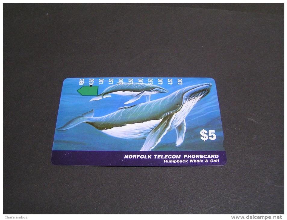 NORFOLK Telecom Whale &Calf; - Norfolk Eiland
