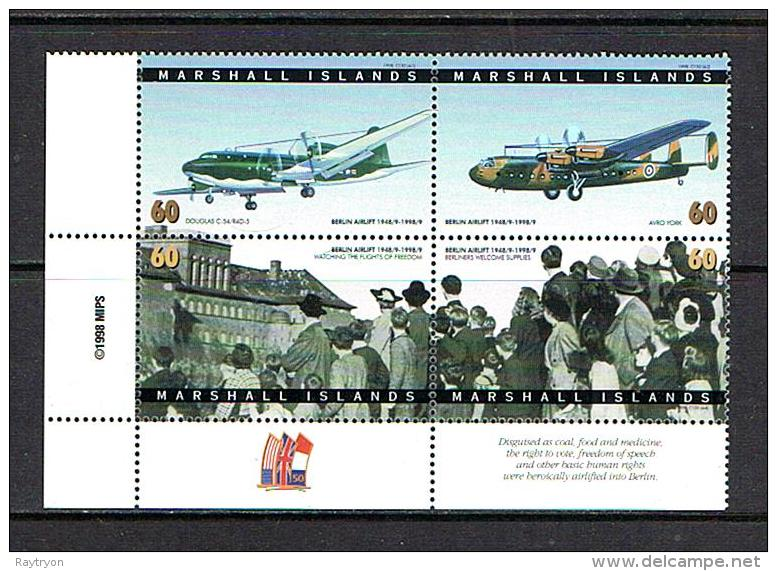 Marshall Islands 1998 Sc # 656  MNH **  Avions - Airplanes  -  Berlin Airlift - Marshall