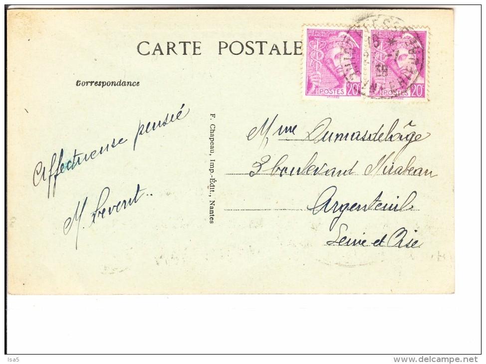 LOIRE ATLANTIQUE - PLESSE - Le Château De Carhell Et Le Canal - France