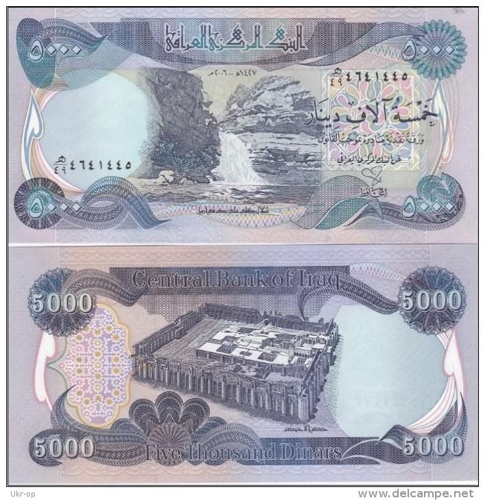 Iraq - 5000 Dinars 2006 AUNC / UNC Ukr-OP - Iraq