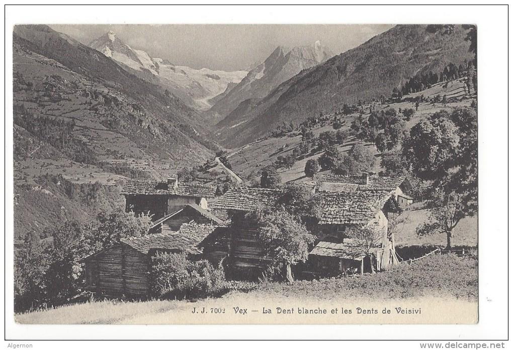 12937 -  Vex La Dent Blanche Et Les Dents De Veisivi - VS Valais