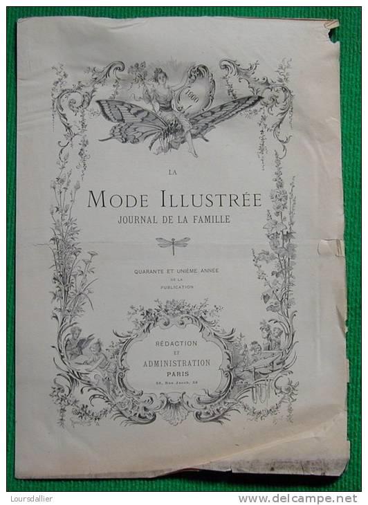 LA MODE ILLUSTREE 1896 - Books, Magazines, Comics