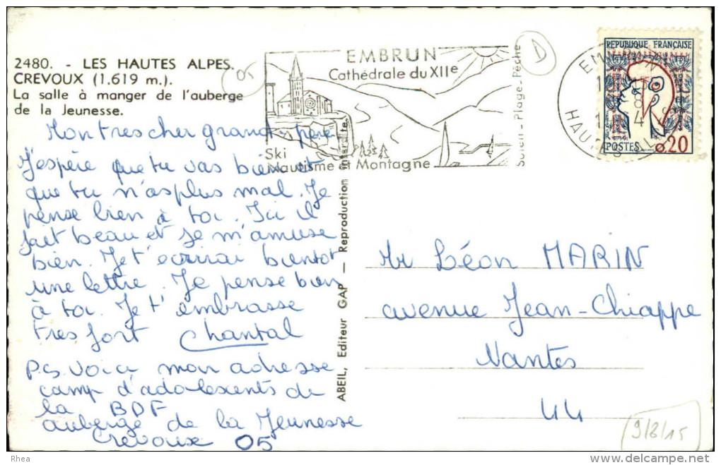 05 - CREVOUX - Auberge De Jeunesse - Autres Communes