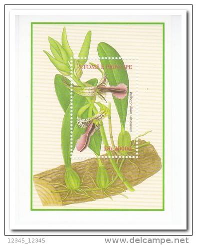 Sao Tome 2002, Postfris MNH, Flowers, Orchids - Sao Tome En Principe