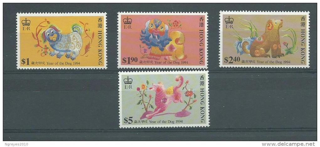 150022372  HONG  KONG  G.B.  YVERT  Nº  735/8  **/MNH - Unused Stamps