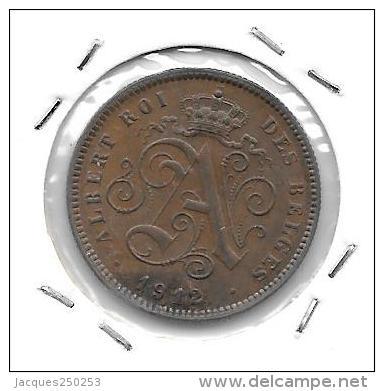 2 Centimes Cu Albert I 1912 FR Qualité+++++++++++++++ - 02. 2 Centimes