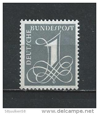 -DUITSLAND  XX (P0SFRIS AVEC SCHARNIER )  NR°  102   Catw.  0.20   Euro - Unused Stamps