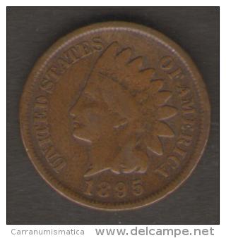 U.S.A. - STATI UNITI D' AMERICA - ONE CENT ( 1895 ) - INDIAN HEAD - Emissioni Federali