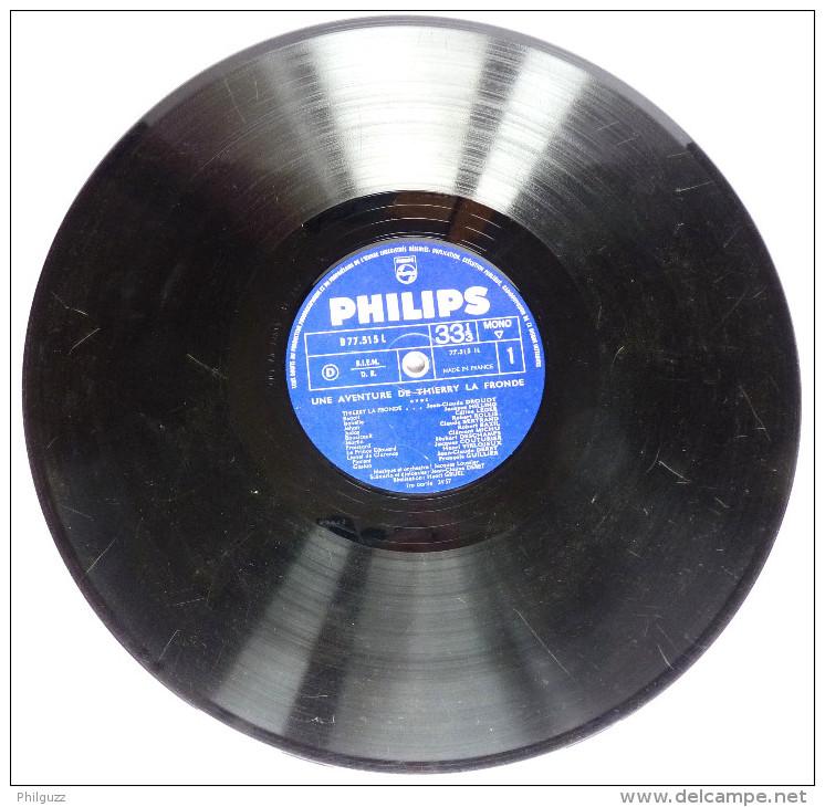 RARE Disque Vinyle 33T Une Aventure De THIERRY LA FRONDE -  JC DROUOT - PHILIPS DELUXE P 77515 L - ORTF 1963 - Disques & CD