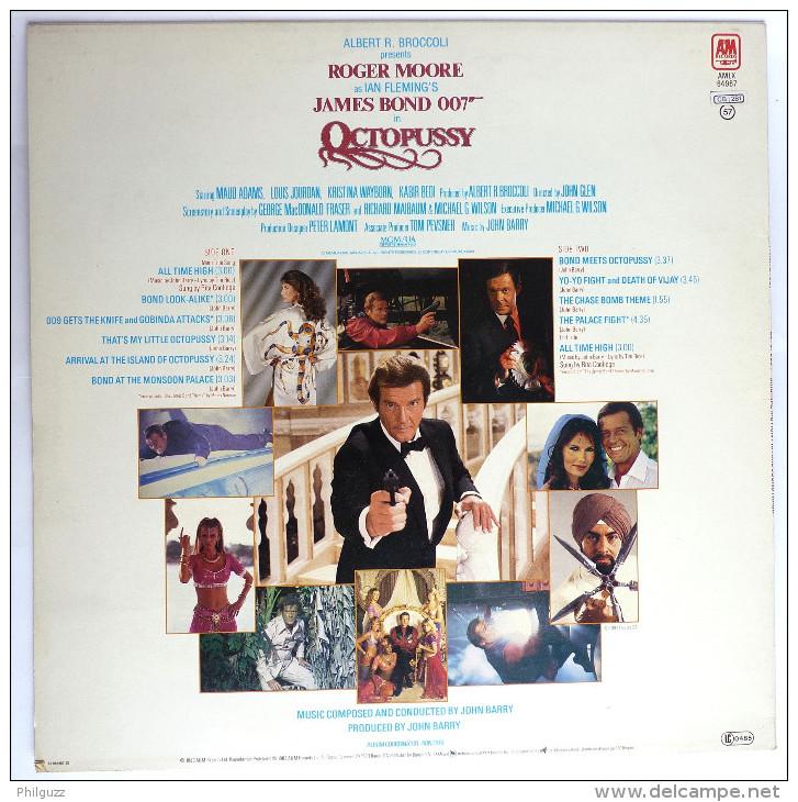 Disque Vinyle 33T JAMES BOND -  OCTOPUSSY (1) - AMLX 64967- 1983 - Disques & CD