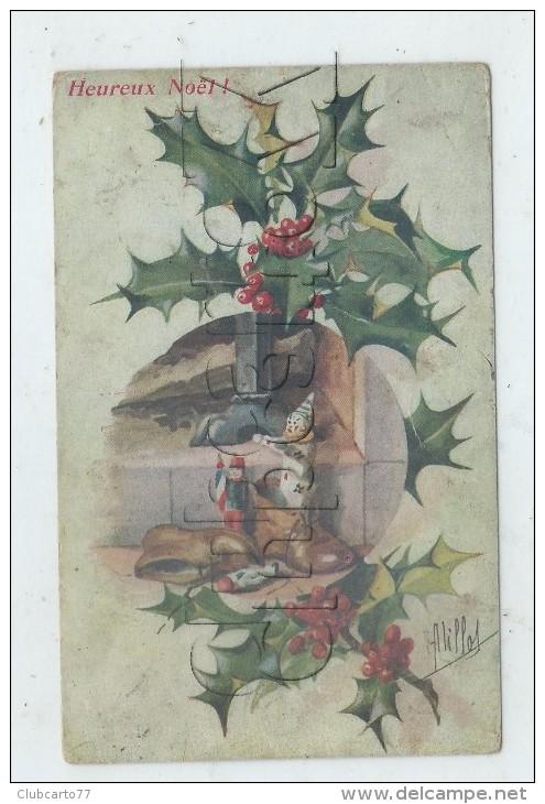 Noêl (Fête) : Jouet De Noël  Cadeaux Dans Les Chaussures Près De La Cheminée, Jouets De Garçon En 1921(illustration)  PF - Noël