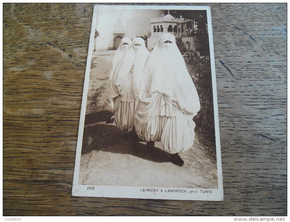 CPA Femmes D´Alger - Phot Tunis. Lehnert & Landrock - N°2508 - Types D´Orient - Série 1 N°2508 - Scènes & Types