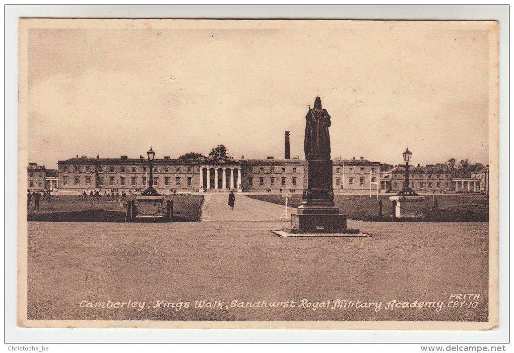 Camberley, Kings Walk, Sandhurst Royal Military Academy (pk23003) - Surrey