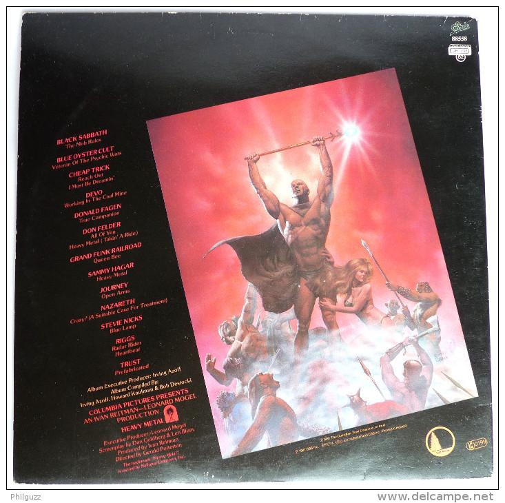 RARE Disque Vinyle 33T HEAVY METAL DOUBLE ALBUM - BO METAL HURLANT - EPIC CBS 88558 1981 POCHETTE CORBEN - Disques & CD