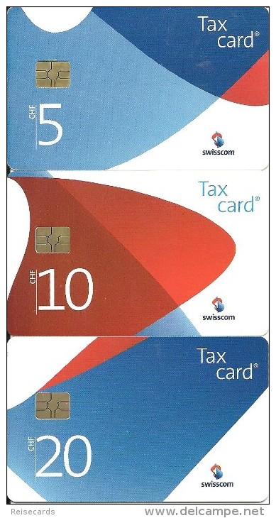 Swisscom: 72. Chip-Serie.  CP 214-216 Swisscom Corporate Design III - Schweiz