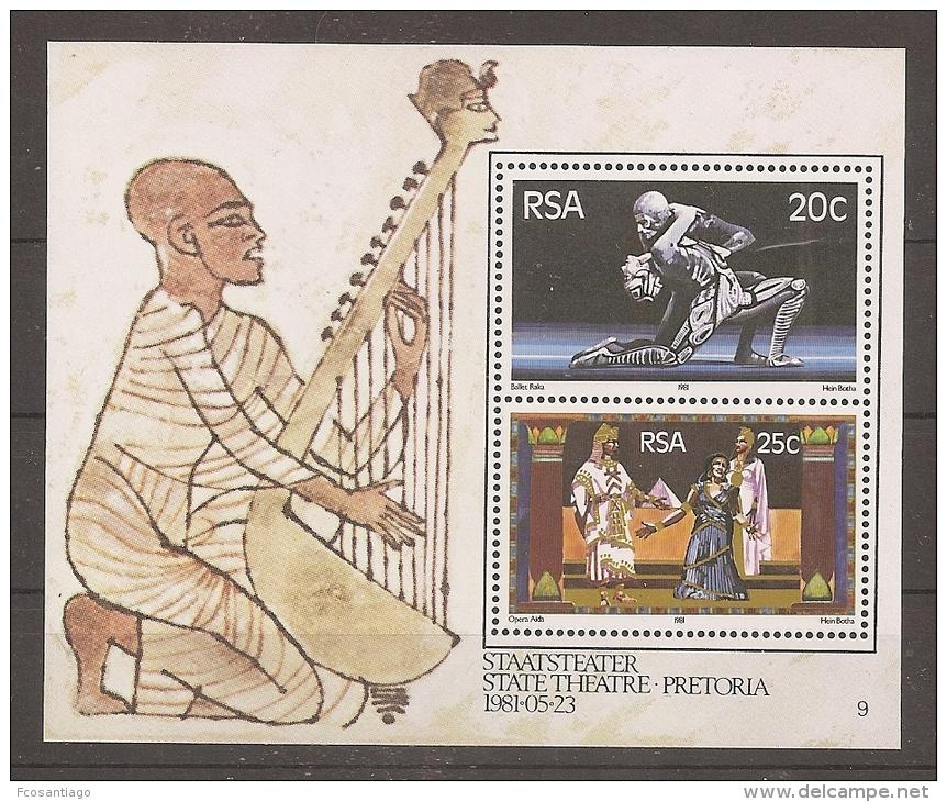 AFRICA DEL SUR 1981 - Yvert #H11 - MNH ** - Hojas Bloque