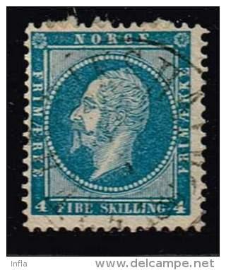 Norwegen 1856, Michel# 4 O - Norvège
