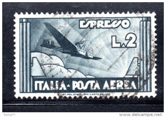 Y198 - REGNO 1934 , Posta Aerea Il N. 73  Usato - 1900-44 Vittorio Emanuele III