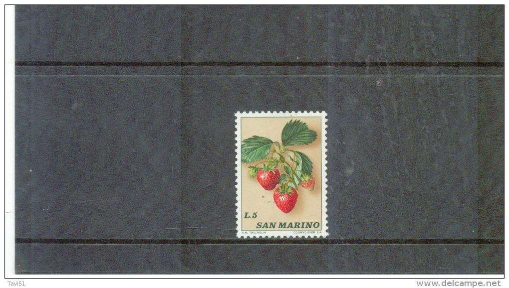SAN MARINO , 1973 , ( * ) , O.G., No Gum  , Mi.Nr. 1035 - Ungebraucht