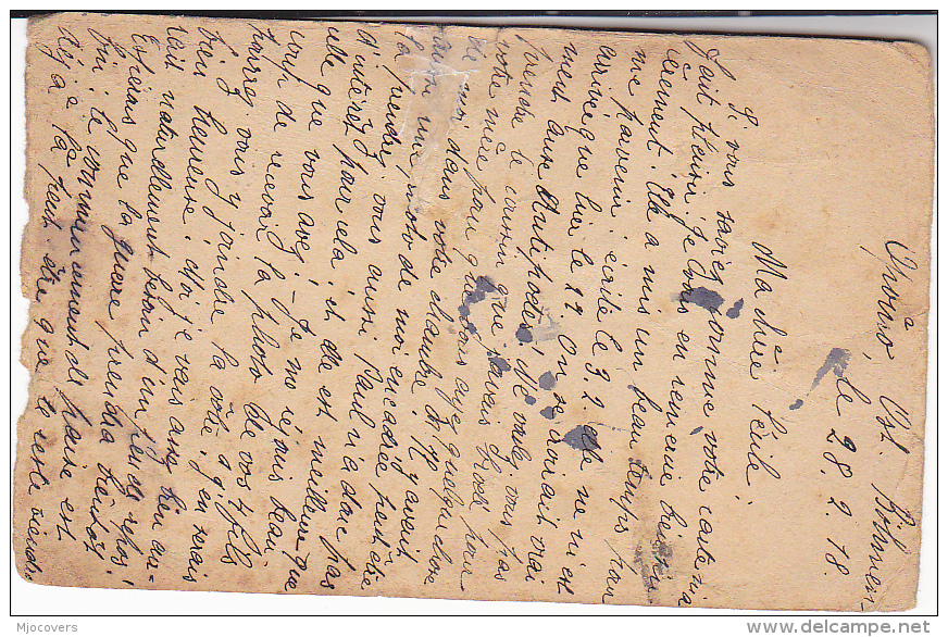 1918 CENSOR ZENZURIERT AUSTRIA Opouno BOHEMIA UPRATED Postal STATIONERY CARD Waadt SWITZERLAND Stamp Censored Censor Wwi - 1850-1918 Empire