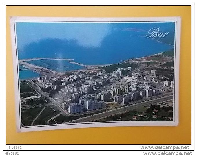 BAR-CRNA GORA-MONTENEGRO-en Avion, Aerial View, Vue Aerienne - Montenegro