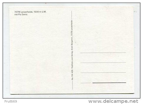 SWITZERLAND - AK 238210 Lenzerheide Mit Piz Danis - GR Grisons
