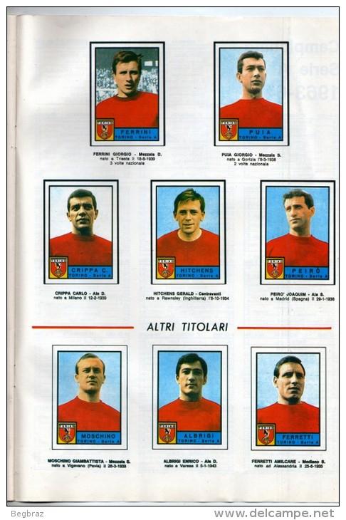 REVUE CALCIATORI 1963 1964  18 EQUIPES DE SERIE A CALCIO 1963    FOOTBALL ITALIE - Livres