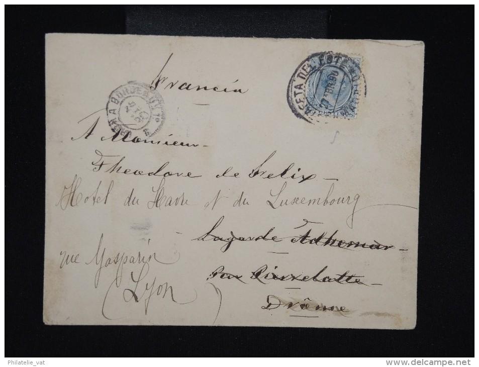 ESPAGNE - Enveloppe  De Madrid Pour Lyon En 1890 - à Voir - Lot P9128 - Cartas