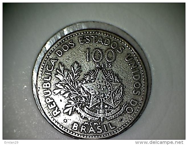 Brésil 100 Reis 1901 - Brésil